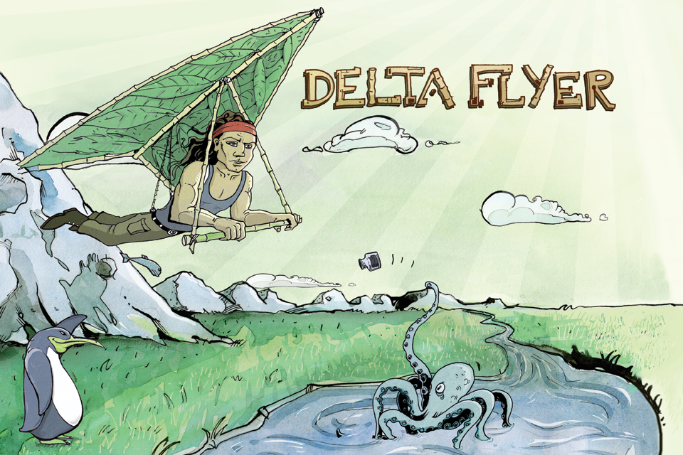 Screenshot DeltaFlyer Pro